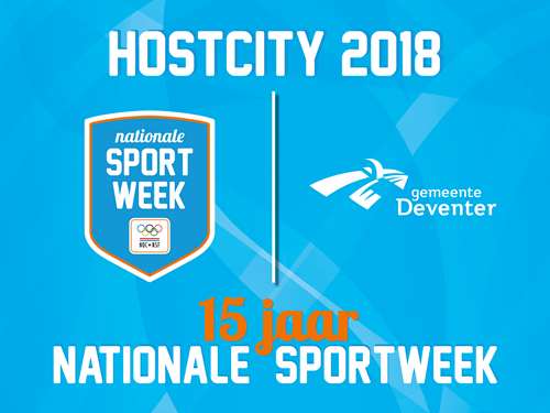 Deventer eerste host city van jubilerende Nationale Sportweek
