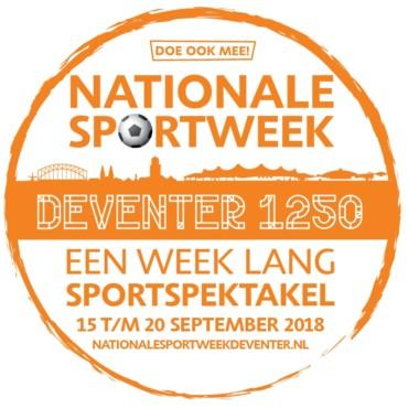 Ook tijdens de nationale sportweek is tennis aanwezig