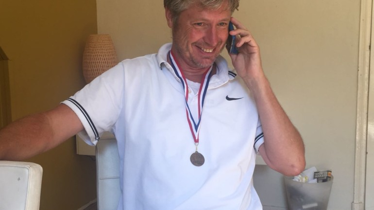 Erik Annega Nederlands kampioen 55+