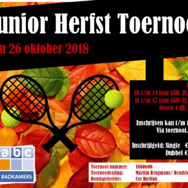 Open Jeugd Herfsttoernooi