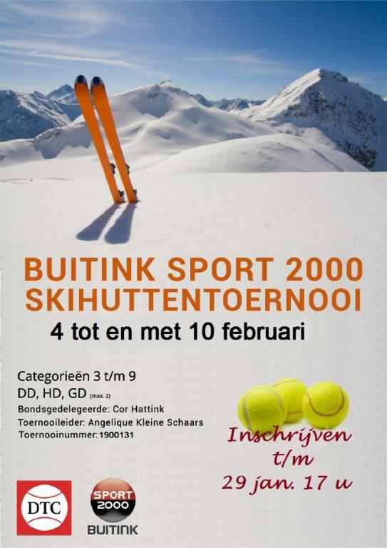 Buitink Sport 2000 Skihuttentoernooi