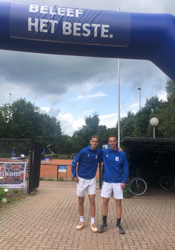 Onze Thieme en Yorrick in actie tijdens nationale kampioenschappen